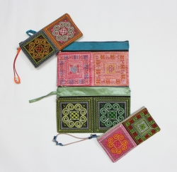 Vietnam Embroidery Brocade Style Purse