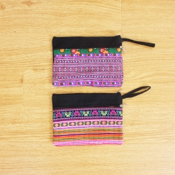 Ethnic Embroidery Clutch Purse