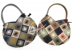 Multicolor Patchwork Soulder Handbag