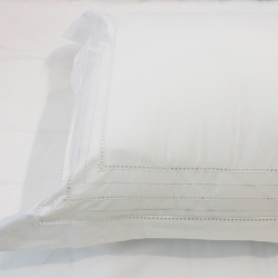 Beautiful handmade cotton with hemstitch pillowcase