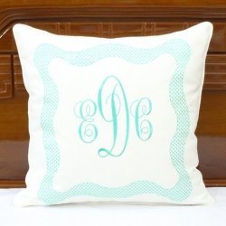 Linen decorative pillow cover